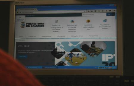 Taquari tem dados satisfatórios na lei de acesso á informação