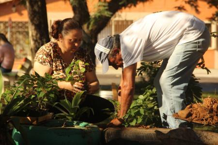 Administração realiza limpeza e manutenção das áreas públicas