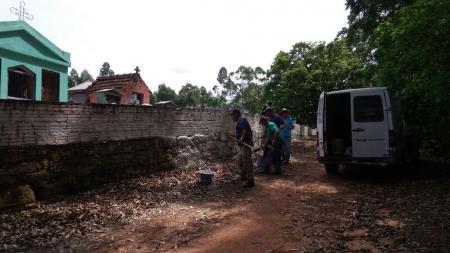 Cemitérios municipais recebem mutirão de limpeza
