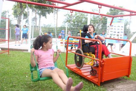 Apae de Taquari inaugurou novos espaços recreativos