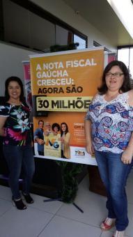Fiscais municipais participam do sorteio da Nota Fiscal Gaúcha