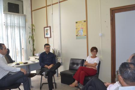 Grupo de religiosos buscou informações sobre o Pastor Huldreich Graf