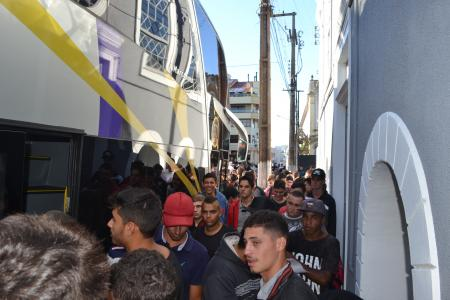88 jovens embarcaram para prestar serviço militar em Cachoeira do Sul