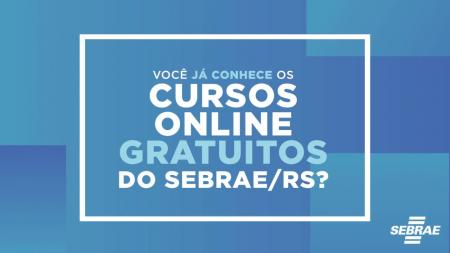 Sebrae realiza cursos online