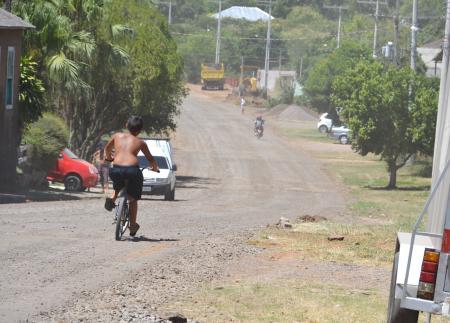 Começa obra de pavimentação da Avenida Getúlio Vargas
