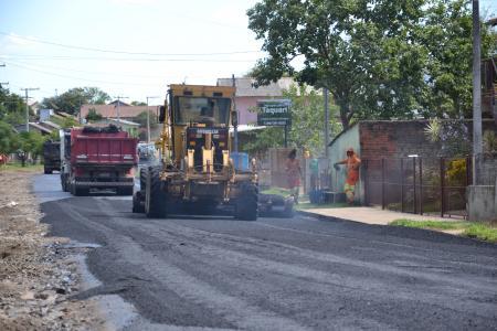 Obras de recapeamento da Avenida Getúlio Vargas avançam