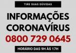 Administração disponibiliza central de ligações para informações sobre o coronavírus