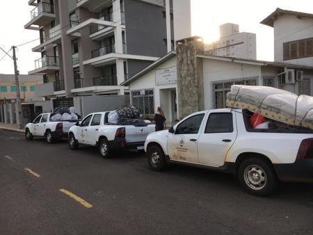 Executivo de Teutônia presta auxílio aos atingidos pela enchente em Taquari