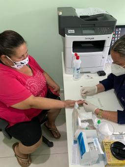 Prefeitura divulga resultado de 700 testes rápidos realizados com população taquariense