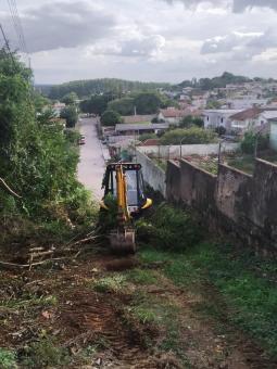 Obras realiza melhorias em ruas de Taquari