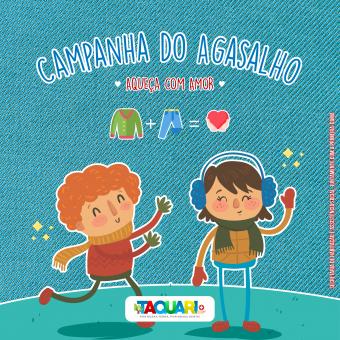 """Administração de Taquari realiza campanha do agasalho """"Aqueça Com Amor"""""""