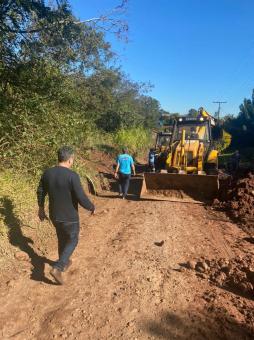 Prefeitura de Taquari realiza melhorias na Fazenda Pereira