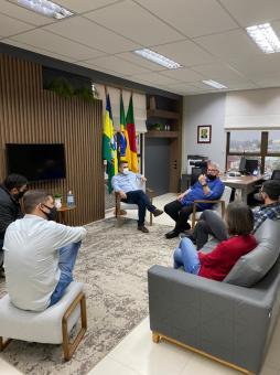 Prefeitura, CDL e Zanc reúnem-se para tratar de parcerias para o comércio local