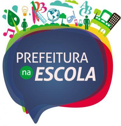 Logotipo do projeto: Prefeitura na Escola