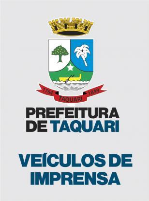 Logotipo do serviço: Veículos de Imprensa de Taquari
