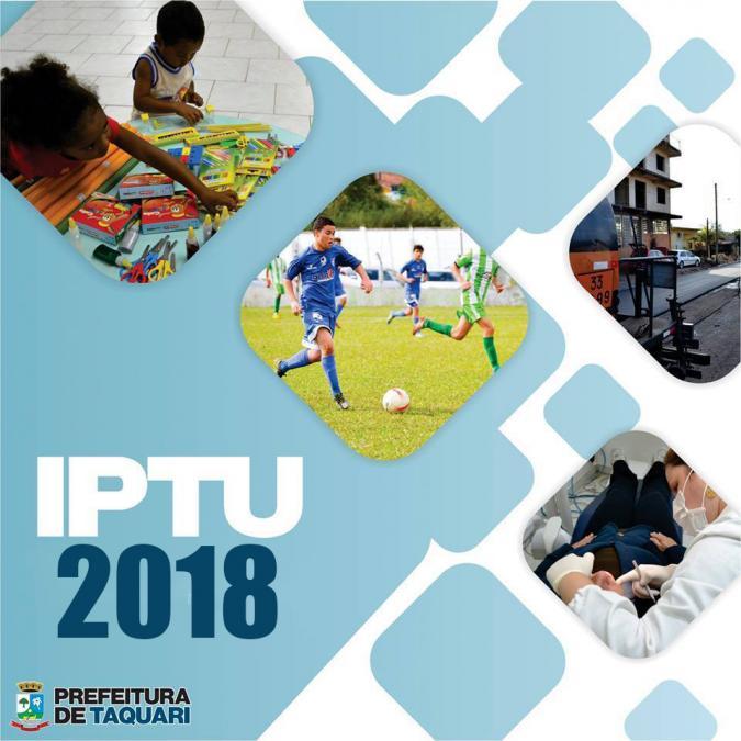 Isenção IPTU 2018