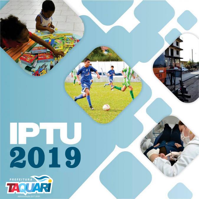 Isenção do IPTU 2019